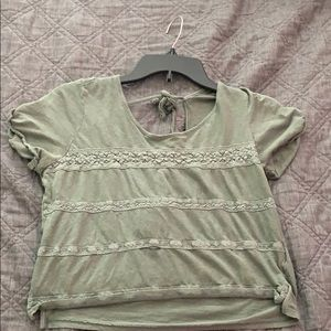 Cute forever 21 crop with open back